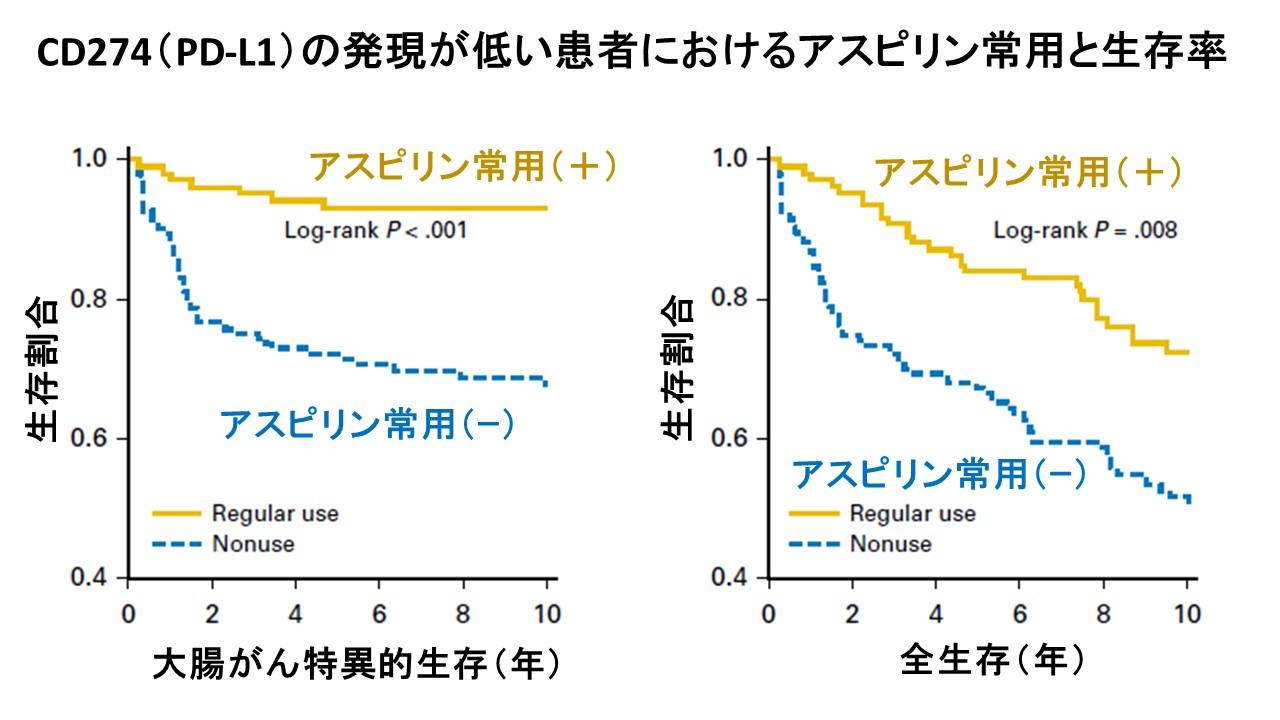 PDL1発現の低い大腸がん