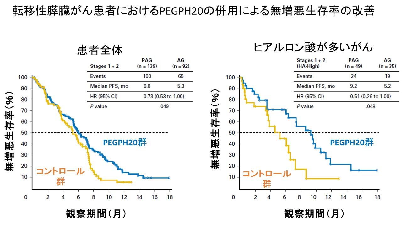 PEGPH20 phase II PFS